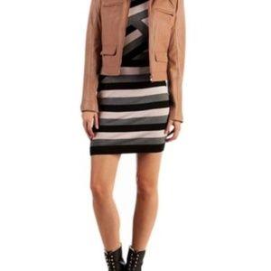 TED BAKER Dress Striped Knit CALIGO